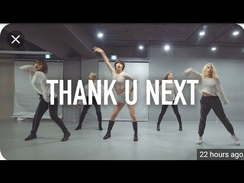 Sexy Cute Korean Girls Dances Thank You Next