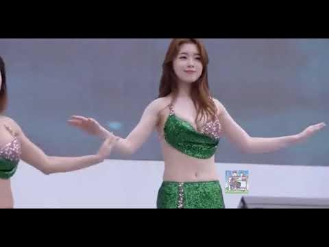 នារីកូរ៉េរាំឡូយម៉េស Sexy Korean girl dancing