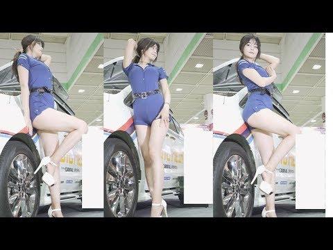 4k Korean Model (2018 서울오토살롱 Seoul Autosalon) 직캠 Fancam kpop 180721