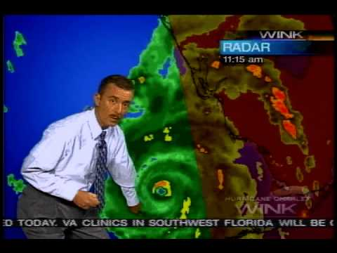 Jim Farrell Hurricane Charley WINK TV