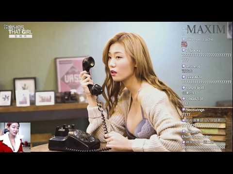 Korean BJ hot beauty빛베리베리크리스마스!선물은 맥심1월호 베리,천혜향 Twitch