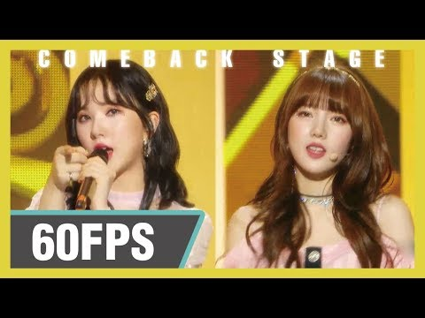 60FPS 1080P | GFRIEND – Sunrise, 여자친구 – 해야 Show! Music core 20190119