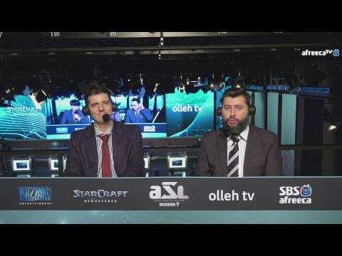 [ENG] AfreecaTV StarLeague(ASL) S7 Ro.16 Day1