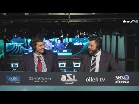 [ENG] AfreecaTV StarLeague(ASL) S7 Ro.16 Day4