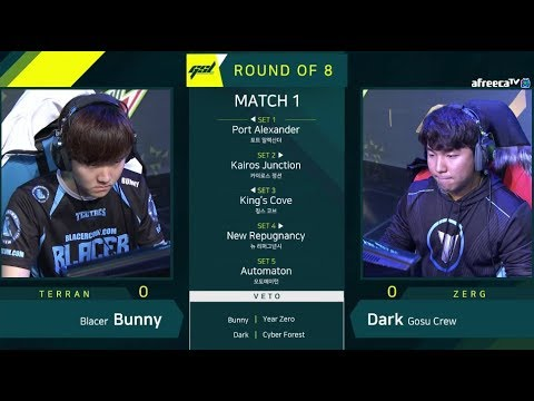 [2019 GSL S1] Ro.8 Day1 Match1 Bunny vs Dark