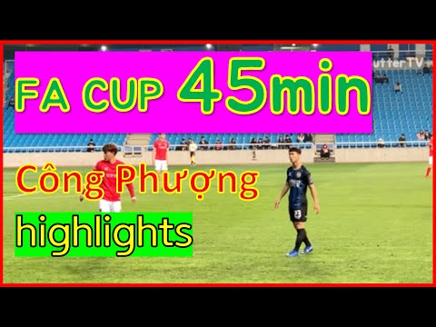 Công Phượng | Incheon United fancam FA cup vs Cheongju FC (highlights) Korean reaction