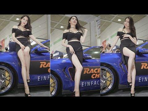 민채윤 레이싱모델  Korean Model (2018 Autosalon 서울오토살롱) 직캠 Fancam kpop 180719