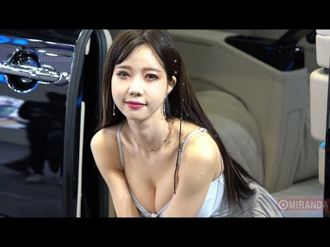 She is so cute ~ Han Min Young ( KOREA RACING MODEL FANCAM ) 직캠