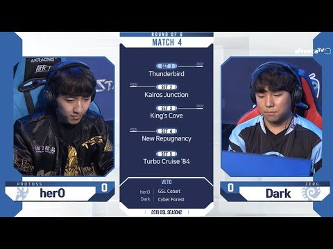 [2019 GSL S2] Ro.8 Day2 Match2 herO vs Dark
