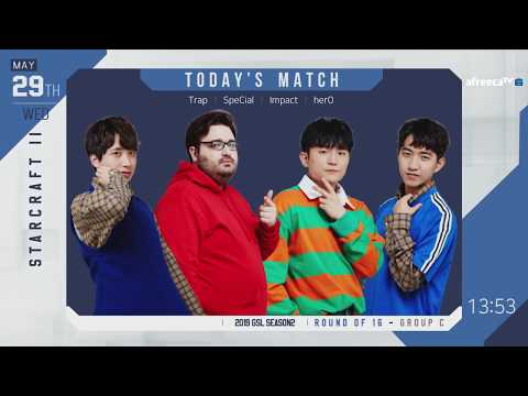 [ENG] 2019 GSL S2 Code S RO16 Group C