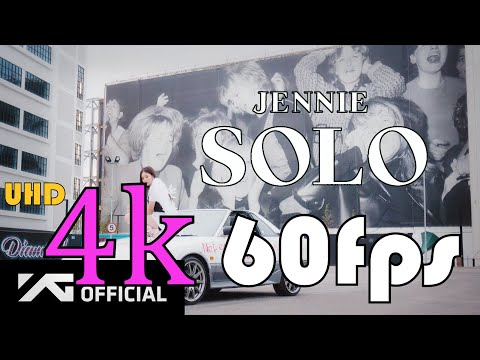 JENNIE – 'SOLO' M/V 4k 60fps