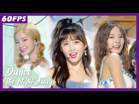 60FPS 1080P | TWICE – Dance the Night Away, 트와이스 – Dance the Night Away Show Music Core 20180714