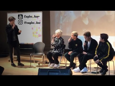 NINETY ONE – Фанмитинг в Корее / Ninety one – Fancam (fan meeting) in Korea 2018.01.10