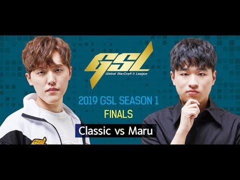 [2019 GSL S1] Finals Classic vs Maru