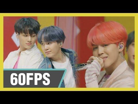 60FPS 1080P | BTS – Boy With Luv, 방탄소년단 – 작은 것들을 위한 시  Show! Music Core 20190420