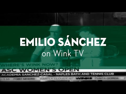 WINK TV INTERVIEW EMILIO SANCHEZ