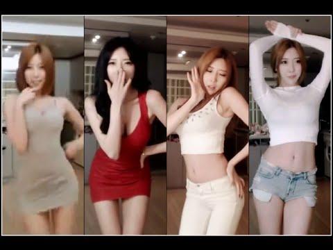 Sexy Korean Girl BJ Mina Dance Compilation 1