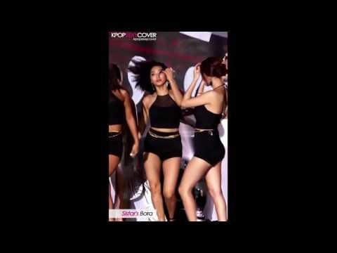 Sistar's Bora hot dance! DAILY BEST Sexy Korean Kpop Girl Fancam