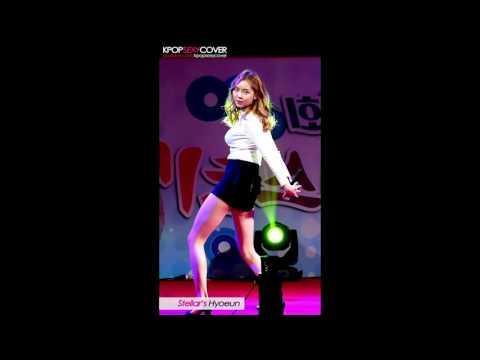 Stellar's Hyoeun super hot! DAILY BEST Hot Korean Kpop Girl Fancam