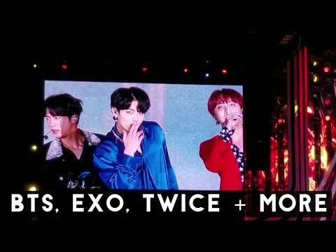 BTS, EXO, TWICE + MORE PYEONGCHANG FANCAM (KOREA VLOG #9)