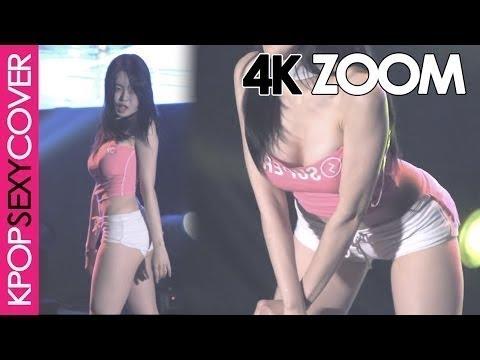 Bambino's Eunsol playing on stage! [4K ZOOM] Hot Korean Kpop Girl Fancam | Korean Sexy Girl