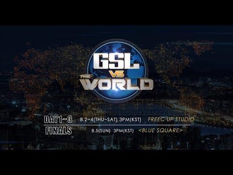 [Promo] 2018 GSL vs. the World