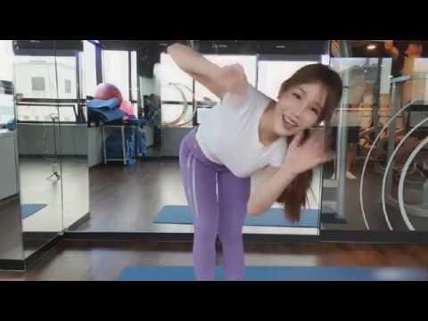 Korean BJ 서수지 SUJI0624 Workout at Gym