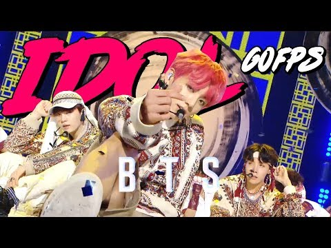 60FPS 1080P | BTS – idol, 방탄소년단 – 아이돌 Show Music Core 20180908