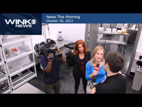 WINK TV News Thsi Morning at Gelato Lab Segment 5