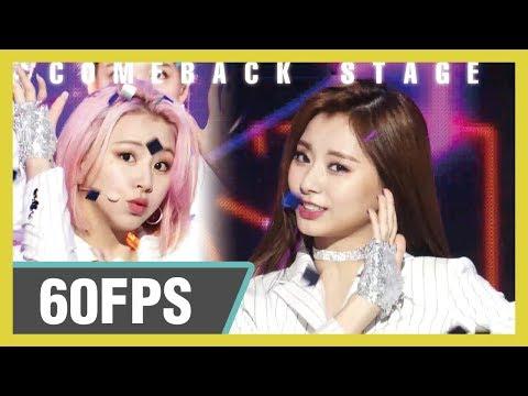 60FPS 1080P | TWICE (트와이스) – FANCY Show! Music Core 20190427