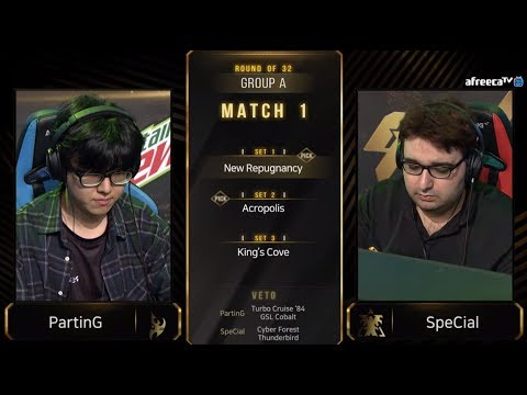 [2019 GSL S3] Ro.32 Group A Match1 PartinG vs SpeCial