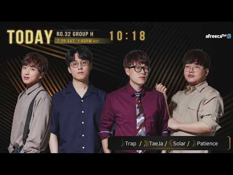[ENG] 2019 GSL S3 Code S RO32 Group H