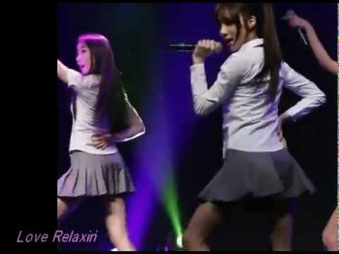 I love sexy korean girls dance Stellar 스텔라 MinHee fancam 14