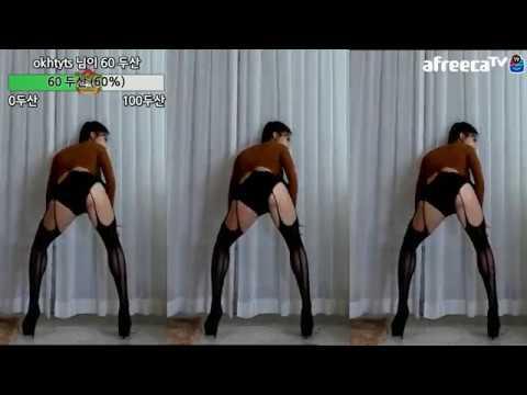 Korean bj dance 아리샤 feel0100