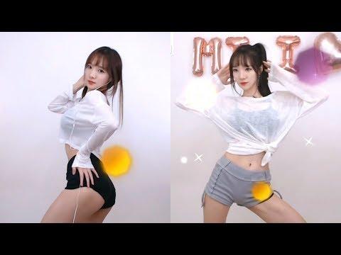 Korean BJ 스텔라민희 dance #156 짧은 치마 (Miniskirt) + Who's your mama? (어머님이 누구니) + Vibrato (떨려요)